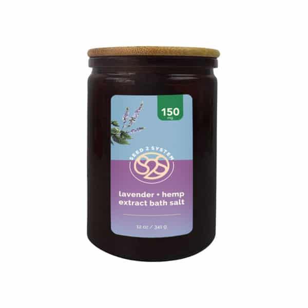 cbd bath salts lavender
